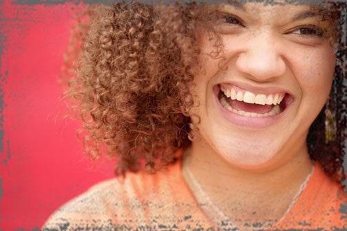 StandUpGirl woman laughs