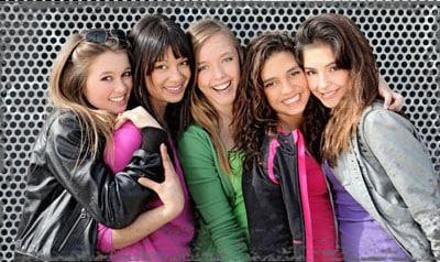 StandUpGirl group of girls smile together