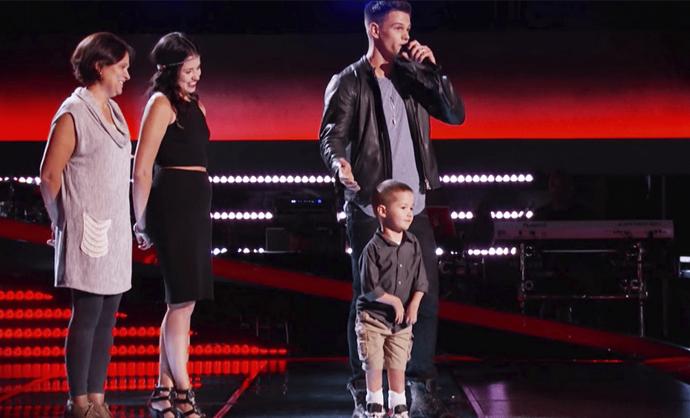 The Voice Contestant's Son With Special Needs Grateful To Be Alive