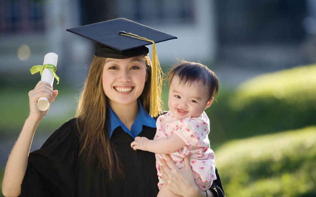 graduate and have a baby