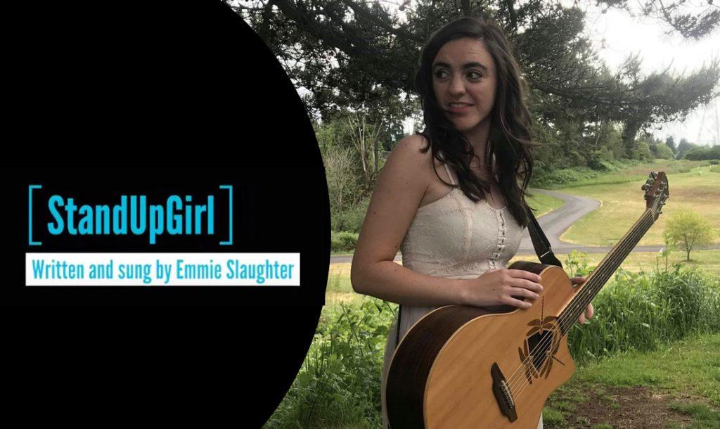 Emmie Slaughter sings original song standupgirl